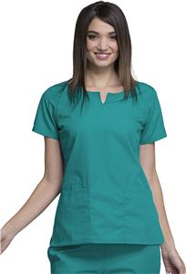 Cherokee Women's Round Neck Scrub Tops
