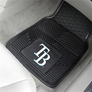 Fan Mats MLB Tampa Bay Rays Vinyl Car Mats (set)