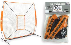 Bow Net Baseball Portable Strike Zone