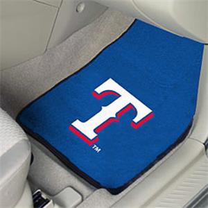 Fan Mats Texas Rangers Carpet Car Mats