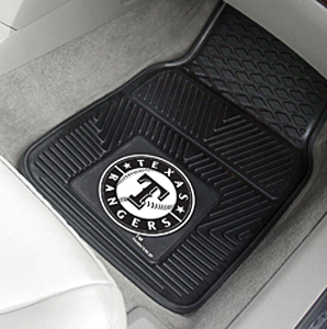 Fan Mats Texas Rangers Vinyl Car Mats