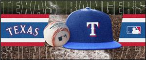 Fan Mats Texas Rangers Baseball Runners