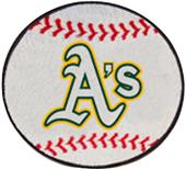 Fan Mats Oakland Athletics Baseball Mats