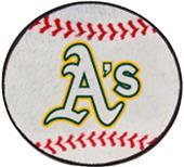 Fan Mats Oakland Athletics Baseball Mats