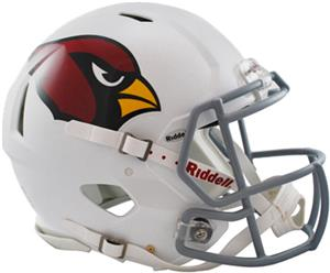 NFL Cardinals On-Field Full Size Helmet (Speed)