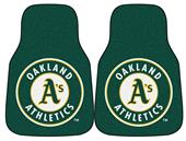 Fan Mats Oakland Athletics Carpet Car Mats (set)