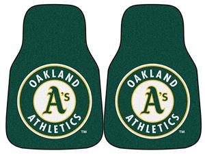 Fan Mats Oakland Athletics Carpet Car Mats