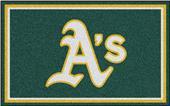 Fan Mats Oakland Athletics 4' x 6' Rugs