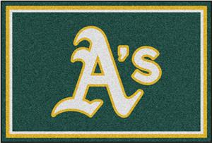 Fan Mats Oakland Athletics 5&#39; x 8&#39; Rugs