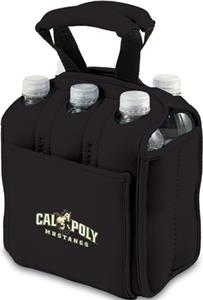 Picnic Time Cal Poly Mustangs 6-Pk Holder