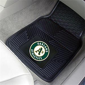 Fan Mats Oakland Athletics Vinyl Car Mats
