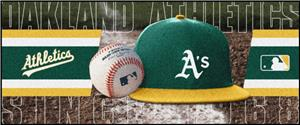 Fan Mats Oakland Athletics Baseball Runners