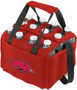 Picnic Time University of Arkansas 12-Pk Holder