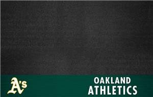 Fan Mats Oakland Athletics Grill Mats