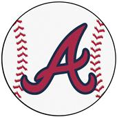 Fan Mats Atlanta Braves Baseball Mats