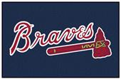 Fan Mats MLB Atlanta Braves Starter Mat