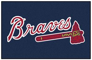 Fan Mats Atlanta Braves Starter Mats