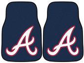 Fan Mats MLB Atlanta Braves Carpet Car Mat (set)