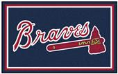 Fan Mats MLB Atlanta Braves 4x6 Rug