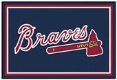Fan Mats MLB Atlanta Braves 5' x 8' Rug