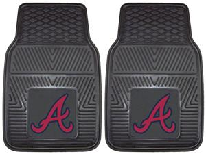 Fan Mats Atlanta Braves Vinyl Car Mats