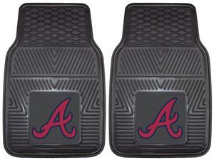 Fan Mats MLB Atlanta Braves Vinyl Car Mat (set)