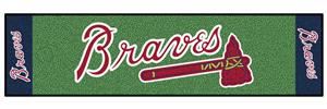 Fan Mats Atlanta Braves Putting Green Mats