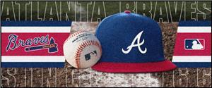 Fan Mats MLB Atlanta Braves Baseball Runner