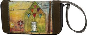 Sherpani Xovia Let Love Rule Wristlet Wallet