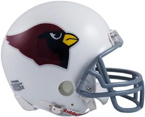 NFL Cardinals Mini Replica Helmet (Throwback)