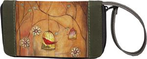 Sherpani Xovia Zippered 2 Songs Wristlet Wallet