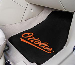 Fan Mats Baltimore Orioles Carpet Car Mats