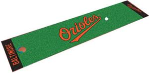 Fan Mats Baltimore Orioles Putting Green Mats