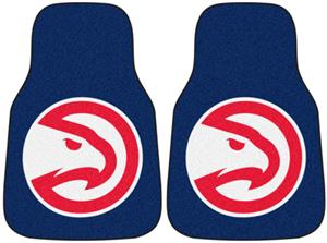 Fan Mats Atlanta Hawks Carpet Car Mats
