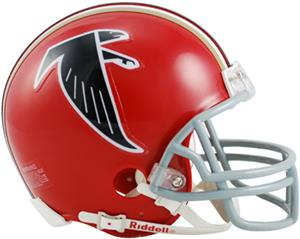 NFL Falcons Mini Replica Helmet (Throwback)