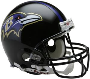 NFL Ravens On-Field Full Size Helmet (VSR4)