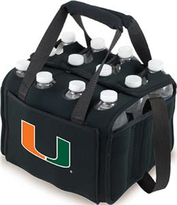 Picnic Time University of Miami 12-Pk Holder