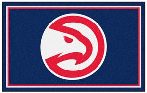 Fan Mats Atlanta Hawks 5' x 8' Rugs