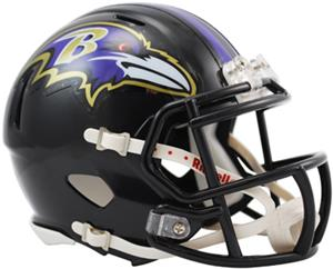 NFL Baltimore Ravens Speed Mini Helmet