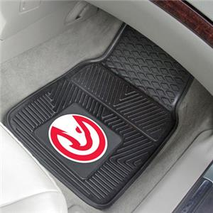 Fan Mats Atlanta Hawks Vinyl Car Mats