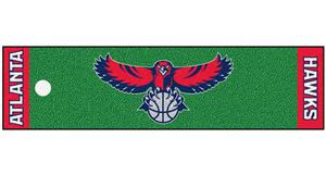 Fan Mats Atlanta Hawks Putting Green Mats
