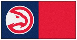Fan Mats NBA Atlanta Hawks Carpet Tiles