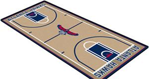 Fan Mats Atlanta Hawks NBA Court Runners