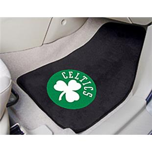 Fan Mats Boston Celtics Carpet Car Mats (set)