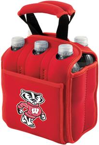Picnic Time University of Wisconsin 6-Pk Holder