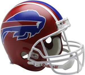 NFL Bills (87-01) OnField Auth Full Size Helmet-TB