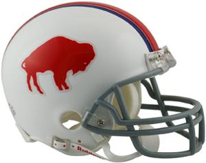 NFL Bills (65-73) Mini Replica Helmet (Throwback)