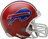 NFL Bills (87-01) Mini Replica Helmet (Throwback)