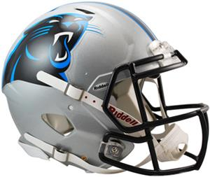 NFL Panthers On-Field Full Size Helmet (Speed)
