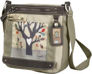 Sherpani Willow Falling Tree Medium Cross Body Bag
